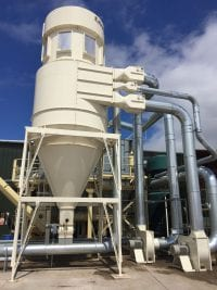 MDF Recycling Plant Dust Extraction System