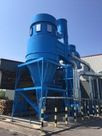 4Y7 Dust Extraction System for Kitchen Manufacture