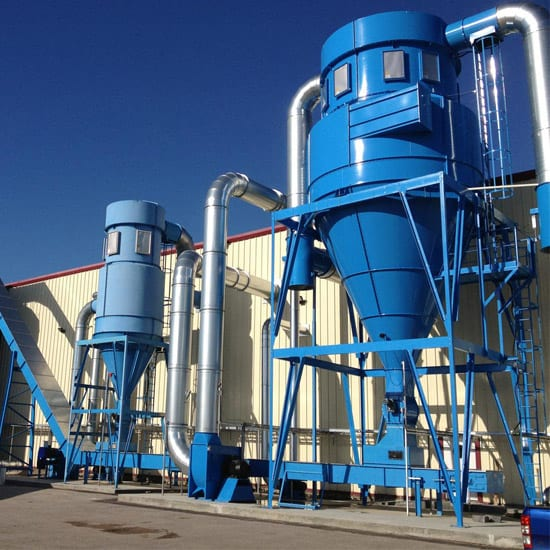 Large Industrial Dust Extraction System