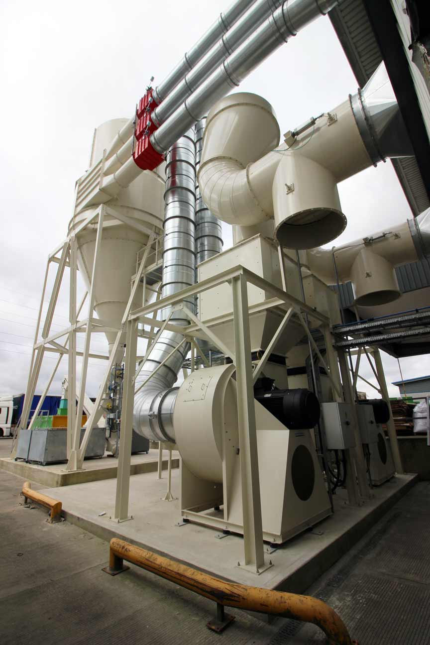 Cyclofilter Dust Extraction Plant