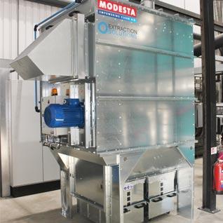Internal ATEX Extraction Unit