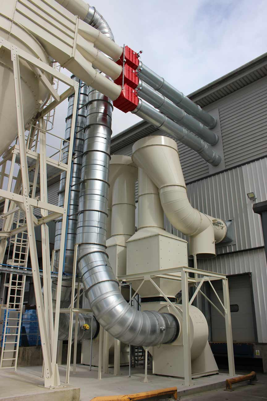 PVC Dust Extraction System