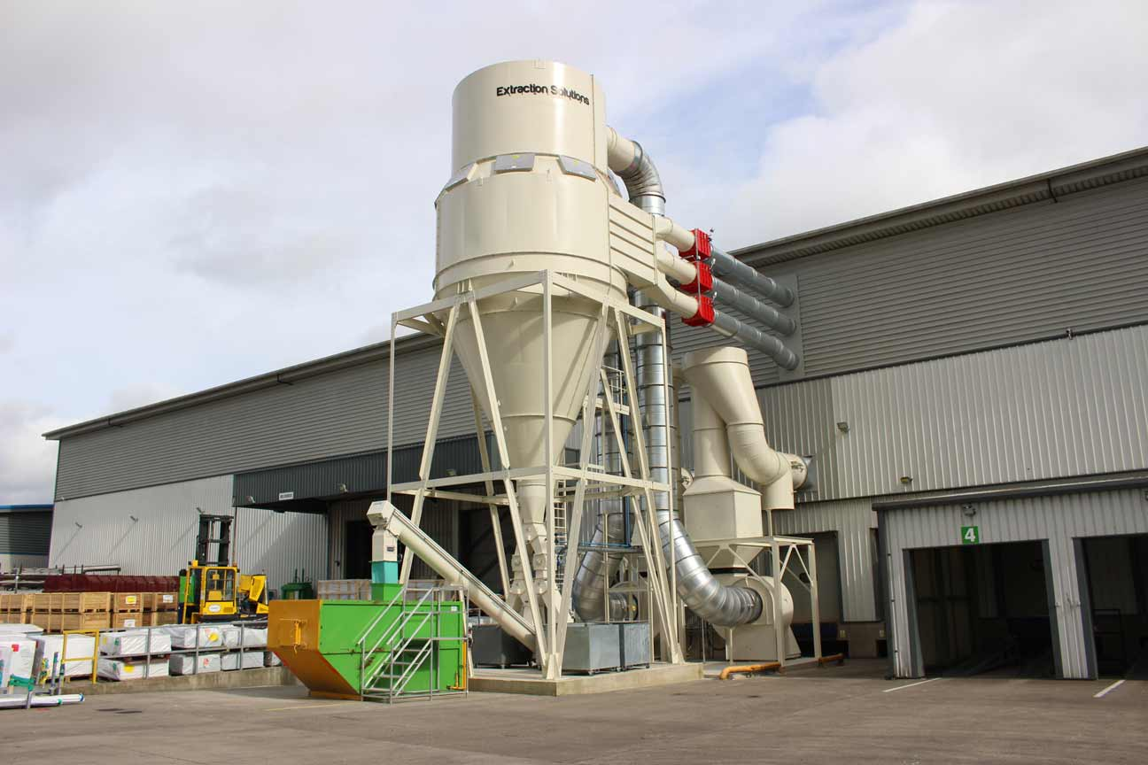 PVC Extraction System, Clean Air Fans, Return Air System