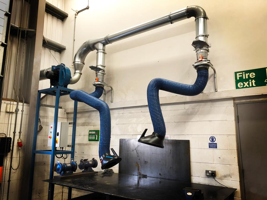 Extraction Arm Fume Extraction