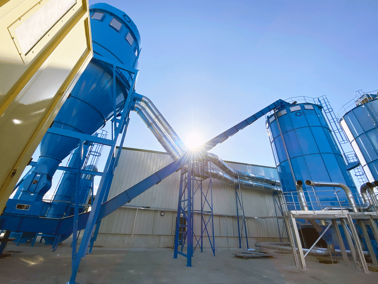 waste handling plant